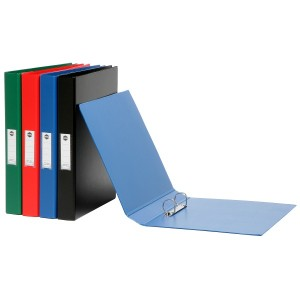 P.V.C BINDER DELUXE A4 4 RING 25mm GREEN (price excludes gst)