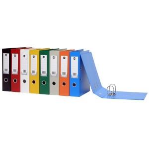 PVC LEVER ARCH FILE A4 ORANGE #6501006 (price excludes gst)