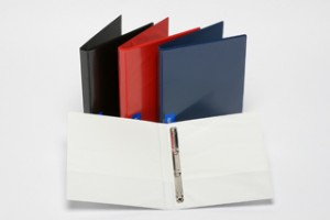 CLEARVIEW INSERT BINDER A4 2 RING 19mm WHITE