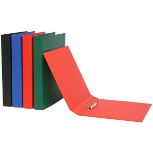PVC BINDER A5 2 RING 25mm RED (price excludes gst)