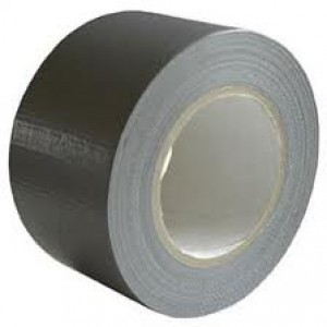 CLOTH TAPE 75mm BLACK (price excludes gst)