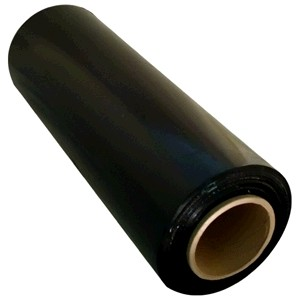 HAND STRETCH WRAP CAST FILM 500mm x 450m BLACK