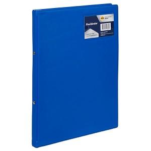 FLEXIBINDER A4 2 RING 20mm BLUE