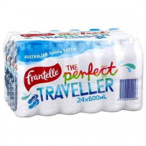 SPRING WATER BOTTLED 600ml FRANTELLE (BOX 24)