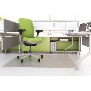 CHAIRMAT HARD FLOOR RECTANGLE 1150mm x 1350mm #AMH-50S (price excludes gst)