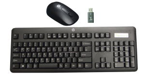 HP STYLISH WIRELESS KEYBOARD & MOUSE H4B79AA (price excludes gst)