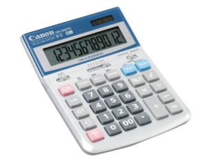 CANON HS-1200TS TAX CALCULATOR (price excludes gst)