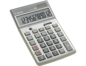CANON HS-20TG CALCULATOR (price excludes gst)