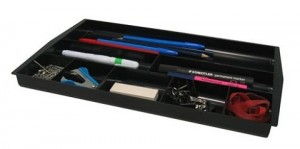 DRAW TIDY ITALPLAST #I-70 BLACK  (price excludes gst)