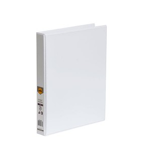 CLEARVIEW INSERT BINDER A4 2 RING 25mm WHITE