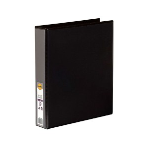 CLEARIEW INSERT BINDER A4 2 RING 38mm BLACK