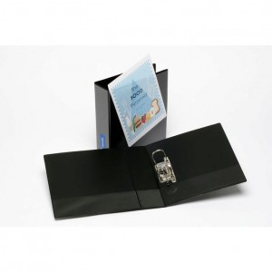 CLEARVIEW (INSERT) LEVER ARCH FILE A4 BLACK