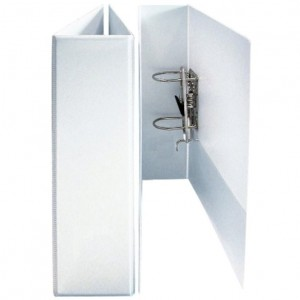 CLEARVIEW (INSERT) LEVER ARCH  FILE A4 WHITE
