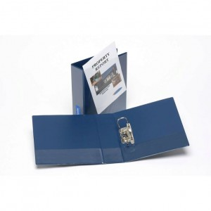 CLEARVIEW (INSERT) LEVER ARCH FILE A4 BLUE