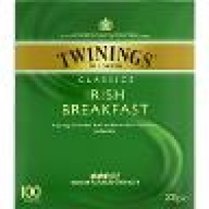 TWININGS IRISH BREAKFAST TEA BAGS 100's