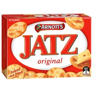 JATZ ORIGNAL 225g  (price excludes gst)