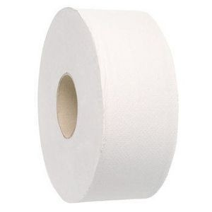 TOILET TISSUE ROLL JUMBO 2 PLY 300m Box 8  (price excludes gst)