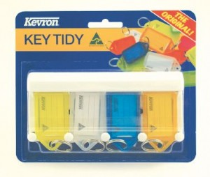 KEVRON KEY TAG RACK 4'S  (price excludes gst)
