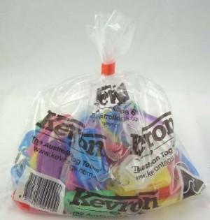 KEVRON KEY TAG STANDARD (BAG 50) ASSORTED ID5