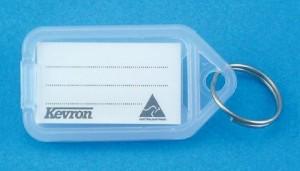 KEVRON KEY TAG STANDARD CLEAR (BAG 50) ID5
