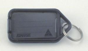 KEVRON KEY TAG STANDARD GRAPHITE (BAG 50) ID5