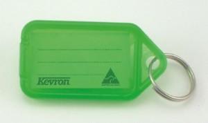 KEVRON KEY TAG STANDARD GREEN (BAG 50) ID5