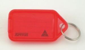KEVRON KEY TAG STANDARD RED (BAG 50) ID5