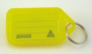 KEVRON KEY TAG STANDARD YELLOW (BAG 50) ID5