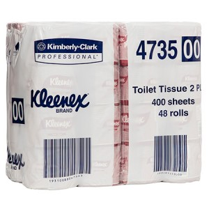 TOILET TISSUE PAPER KLEENEX 2 PLY 4735 Box 48