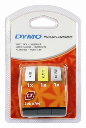 DYMO LetraTag LABEL TAPE 12mm STARTER KIT 91240 (price excludes gst)