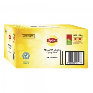 LIPTON BLACK LABEL TEA BAGS 1000's