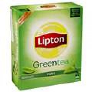 LIPTON GREEN TEA BAGS 100's