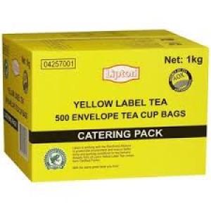 LIPTON YELLOW LABEL TEA BAGS 500's