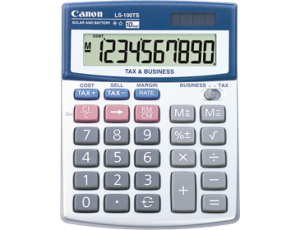 CANON LS-100TS CALCULATOR (price excludes gst)