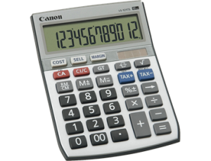 CANON LS-121TS CALCULATOR 12 DIGIT