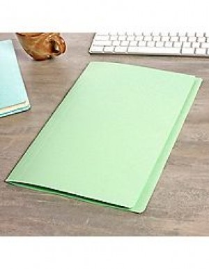 MANILLA FOLDERS FCAP LIGHT GREEN Pkt 25  (price excludes GST)