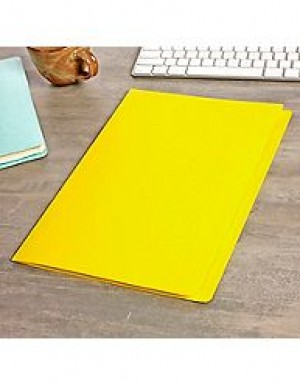 MANILLA FOLDERS FCAP YELLOW Pkt 25  (price excludes GST)