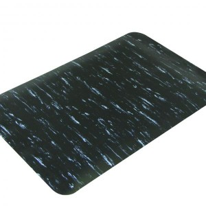 MATTEK ANTI-FATIGUE MAT BLACK MARBLE FOOT 900mm x 1500mm MF35BLK