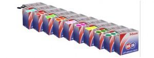 QUICK STIK LABEL DOTS MC14mm PURPLE (PKT 1050)  (price excludes gst)