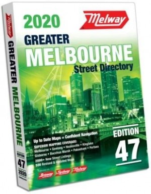 Street Directory Melway 47th Edition 2020