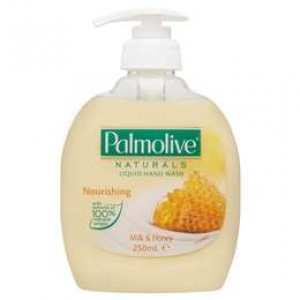 LIQUID HAND SOAP ON TAP PUMP PALMOLIVE MILK & HONEY 250ml (price excludes gst)
