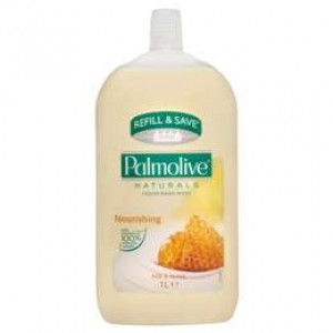 LIQUID HAND SOAP ON TAP REFILL PALMOLIVE MILK & HONEY 500ml (price excludes gst)