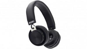 MOKI EXO PRIME BLUETOOTH HEADPHONES BLACK