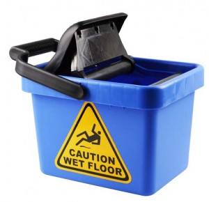 MOP BUCKET WITH WRINGER 9 Litre I-446  (price excludes gst)