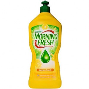 DISHWASHING LIQUID MORNING FRESH LEMON 400ml  (price excludes gst)