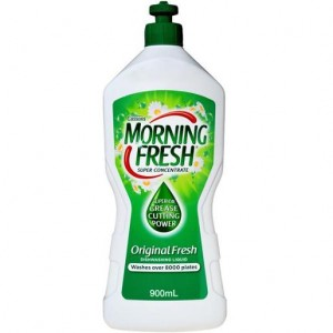 DISHWASHING LIQUID MORNING FRESH ORIGINAL 400ml  (price excludes gst)