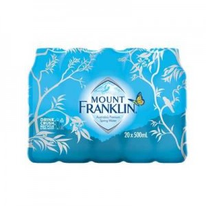 MOUNT FRANKLIN SPRING WATER 500ml (BOX 20)