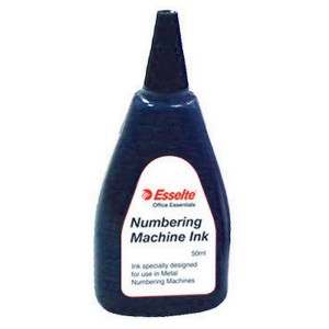 NUMBERING MACHINE INK BLACK  (price excludes gst)