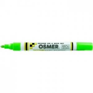 OSMER PAINT MARKER MEDIUM NIB 2.5mm LIGHT GREEN  (price excludes gst)