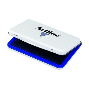 ARTLINE STAMP PAD 2 BLUE 143mm x 87mm  (price excludes gst)